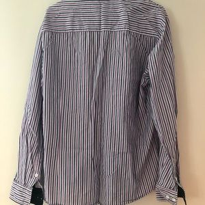 Tomsware Mens shirt striped color